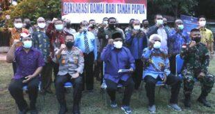 tokoh lintas agama papua kutuk aksi terorisme