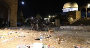 bentrok polisi israel dengan muslim palestina di masjid al aqsa