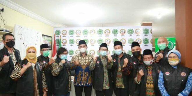 Direktur Pencegahan BNPT Brigjen Pol R. Ahmad Nurwakhid dan pemuka agama