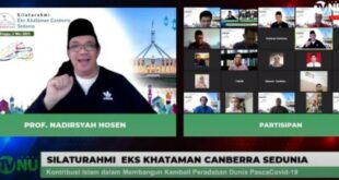 gus nadirsyah di pengajian muslim canberra