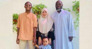 Jacksen F Tiago dan keluarga muslimnya