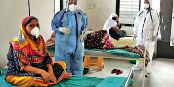Masjid dijadikan rumah sakit di India