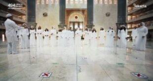 paduan suara di masjid istiqlal