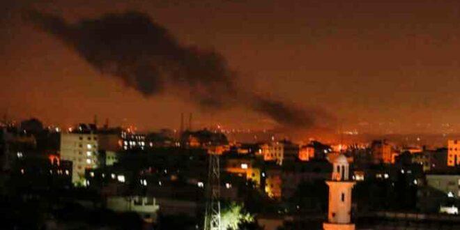Serangan udara israel ke Jalur Gaza