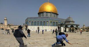 tindakan keras polisi israel terhadap muslim palestina di masjid al aqsa