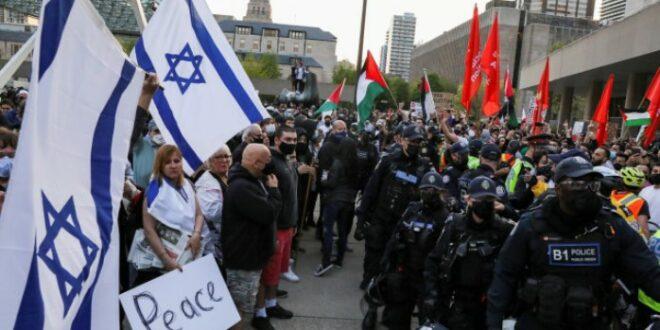 Warga Yahudi ikut protes kekejaman Israel terhadap Palestina