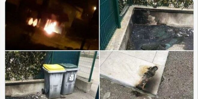 orang tak dikenal berupaya membakar masjid di kota albertville 210505081154 195