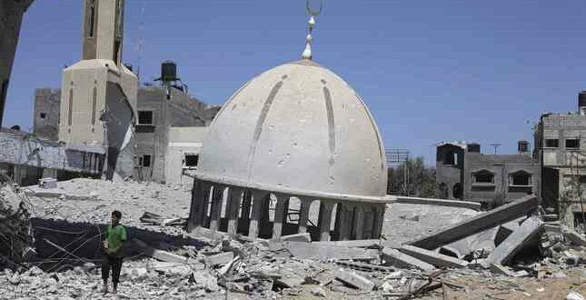 Masjid di Palestina dihancurkan tentara Israel