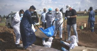 Pemakaman jenazah muslim akibat Covid di Afrika Selatan