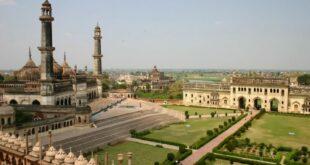 masjid dan istana bara imambara lucknow india