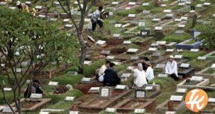 nyekar kuburan