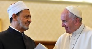 Imam Besar Al Azhar dan Paus Franciskus