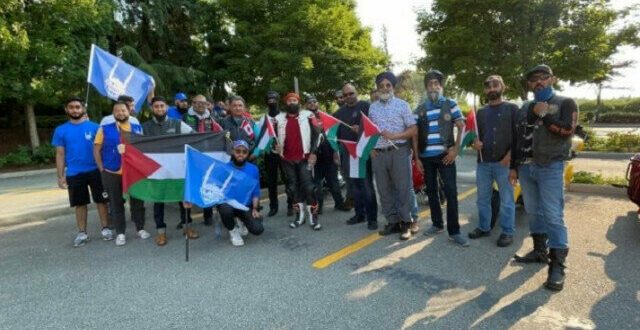 Islamic Relief Canada Muslim Riders Club Vancouver dan Sikh Motorcycle Club Canada