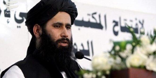 Jubir Taliban Zabihullah Mujahid