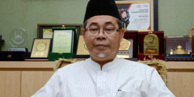 Ketua Umum Ikadi Prof Ahmad Satori ismail