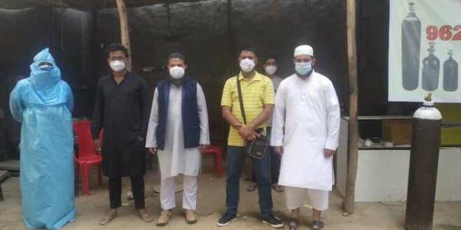 Muslim India sumbangkan dana haji untuk beli oksigen untuk pasien Covid