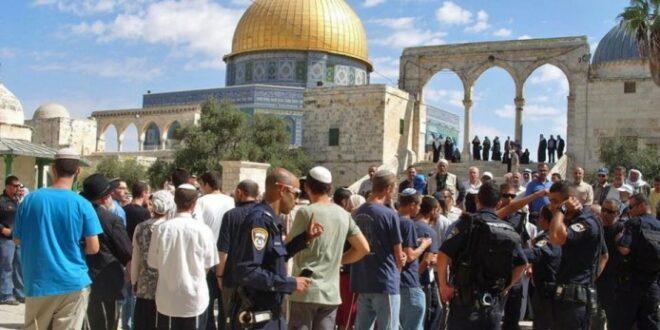 Pemukim Yahudi menyerbu Masjid Al Aqsa