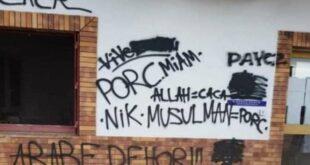 Vandalisme di Masjid Agung Institut Al Ghazali Prancis