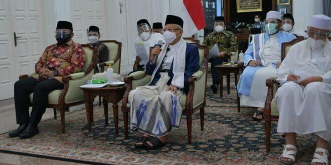 Wapres KH Maruf Amin bertemu sejumlah Ormas Islam