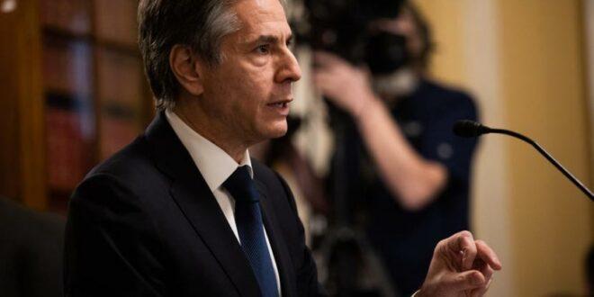 menteri luar negeri menlu amerika serikat as antony