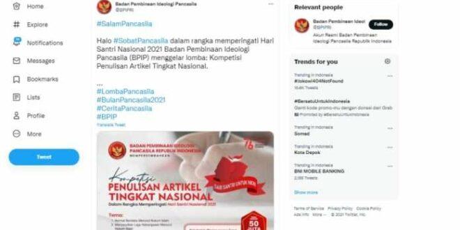 BPIP gelar lomba penulisan Hari Santri Nasional yang temanya mendapat kritik keras