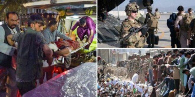 Bom di luar bandara Kabul tewaskan tentara AS dan warga sipil
