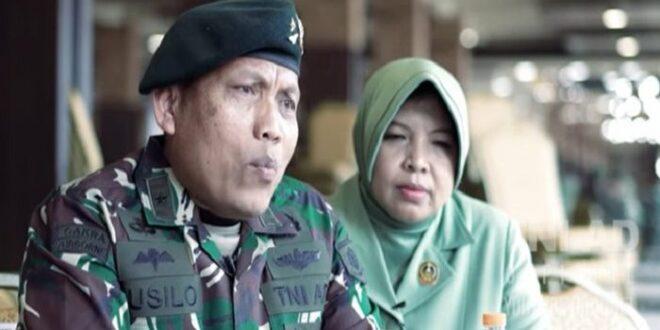 Brigjen TNI Susilo dan istri