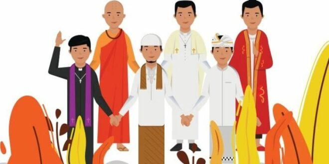 Ilustrasi kerukunan umat beragama
