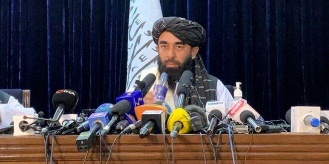 Juru Bicara Taliban Zabihullah Mujahid