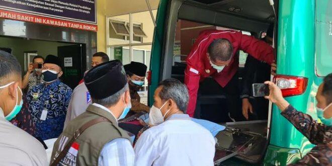 Ketum MUI KH Miftachul Akhyar dan rombongan melanjutkan perjalanan ke Surabaya setelah kondisinya membaik pasca kecelakaan