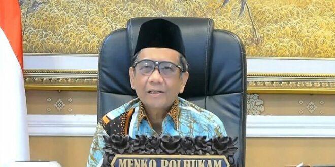 Menko Polhukam Prof Mahfud MD