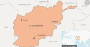 Negara negara Asia tengah yang berbatasan dengan Afghanistan