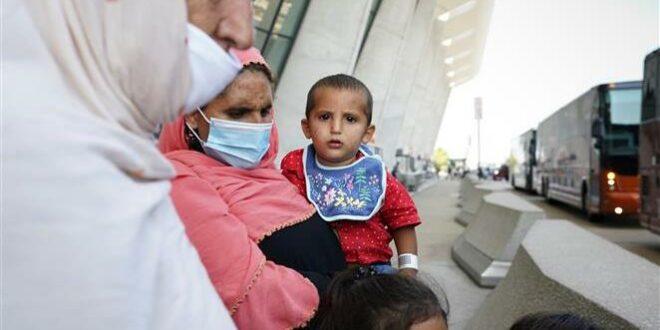 Pengungsi Afghanistan tiba di Amerika