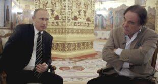 Presiden Rusia Vladimir Putih saat diwawancara Oliver Stone