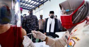 Wapres tinjau vaksinasi di Serang