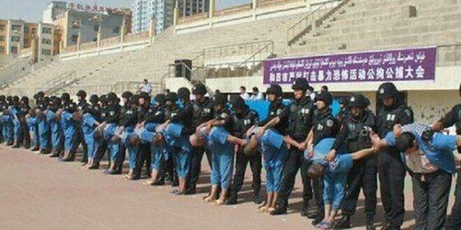 Kamp pelatihan ulang Uighur di Xinjiang