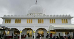 Masjid Putih yang kembali diresmikan pasca hancur saat penumpasan teroris Maute di Kota Marawi Filipina