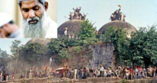 Mohammed Amir dan aksi pembongkaran Masjid Babri