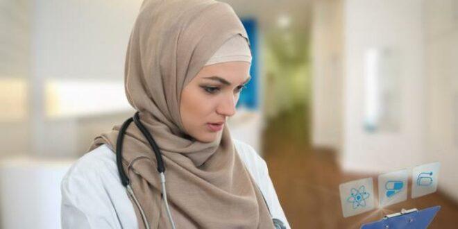 Muslimah tenaga kesehatan di Singapura