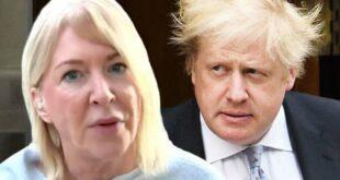Nadine Dorries dan PM Boris Johnson