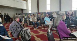 Suasana open house di Masjid Guiding Light Louisville