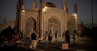 Bom di depan masjid tempat peringatan ibu Juru Bicara Taliban Zahibullah Mujahid