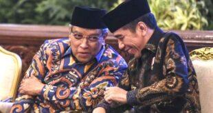 KH Said Aqil Siroj dan Presiden Jokowi
