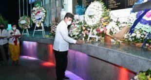 Kepala BNPT pada peringatan Bom Bali di monumen peringatan BOm Bali