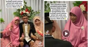 kisah istri viral yang antar suami menikah lagi